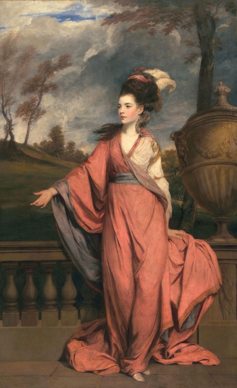 Sir Joshua Reynolds, Jane Fleming displaying an air of icy self-confidence. Beeld The Hammer Museum, Huntington Art Collections