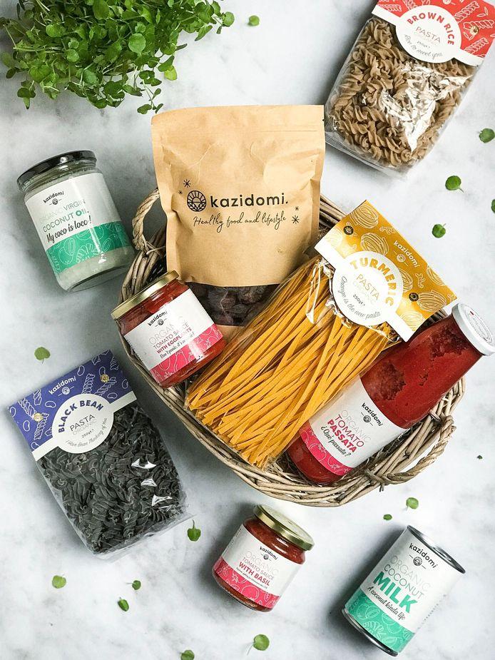 En plus d'un abonnement, vous avez la possibilité de remporter une sélection de produits de la marque Kazidomi