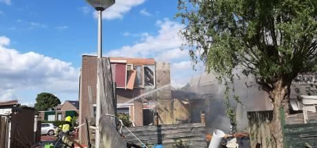 100 man aan het werk in wijk; 30 buren ontplofte woning kunnen niet naar huis