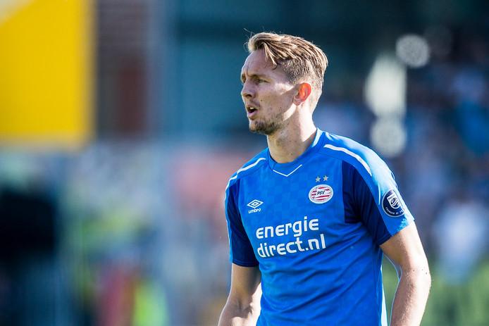 Luuk de Jong is nu weer basisspeler bij PSV en analist en oud-trainer Aad de Mos zou dat voorlopig niet veranderen.