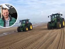 Gelderse veehouder Willeam ontwijkt politie via het strand: 'Knalhard door het mulle zand. Ge-wel-dig!'