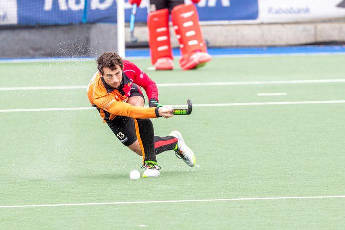 Sander Baart van Oranje-Rood zit niet bij de selectie van bondscoach Max Caldas.