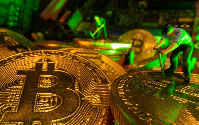 Bitcoin is geen fysieke munt, maar als dat zo was, zou hij er misschien wel zo uitzien.