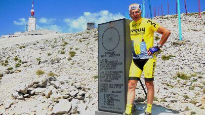 Monsieur Mont Ventoux wordt in september uitgestrooid op 'zijn' berg