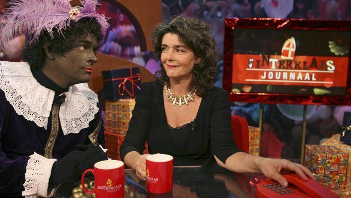 De discussie over Zwarte Piet heeft Dieuwertje aan het denken gezet.