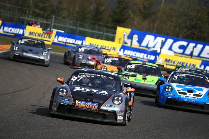 Nicolas Saelens startte dit weekend goed in de Porsche Carrera Cup Benelux op Spa-Francorchamps.
