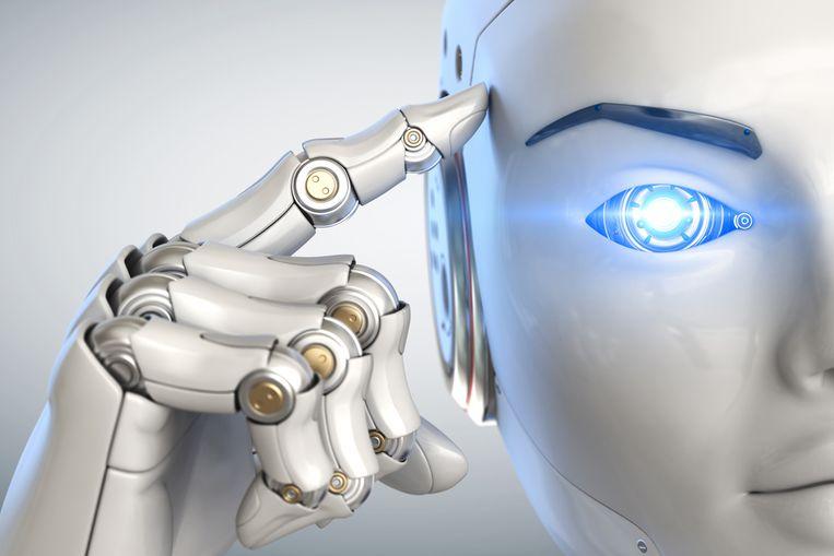 Laten we 'Terminator' te vriendelijk lachend toe in onze woonkamer? Beeld Shutterstock
