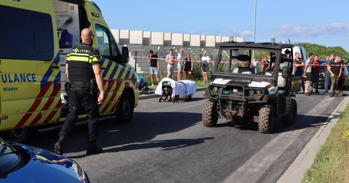 Voetganger zwaargewond na aanrijding met buggy in Barneveld.
