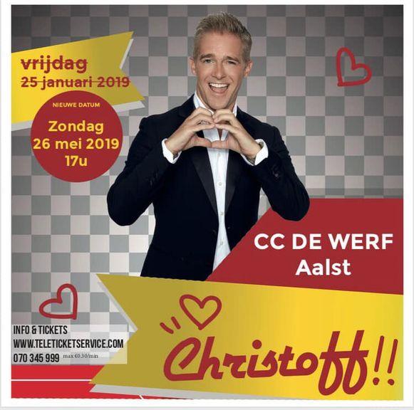 Christoff in CC De Werf.