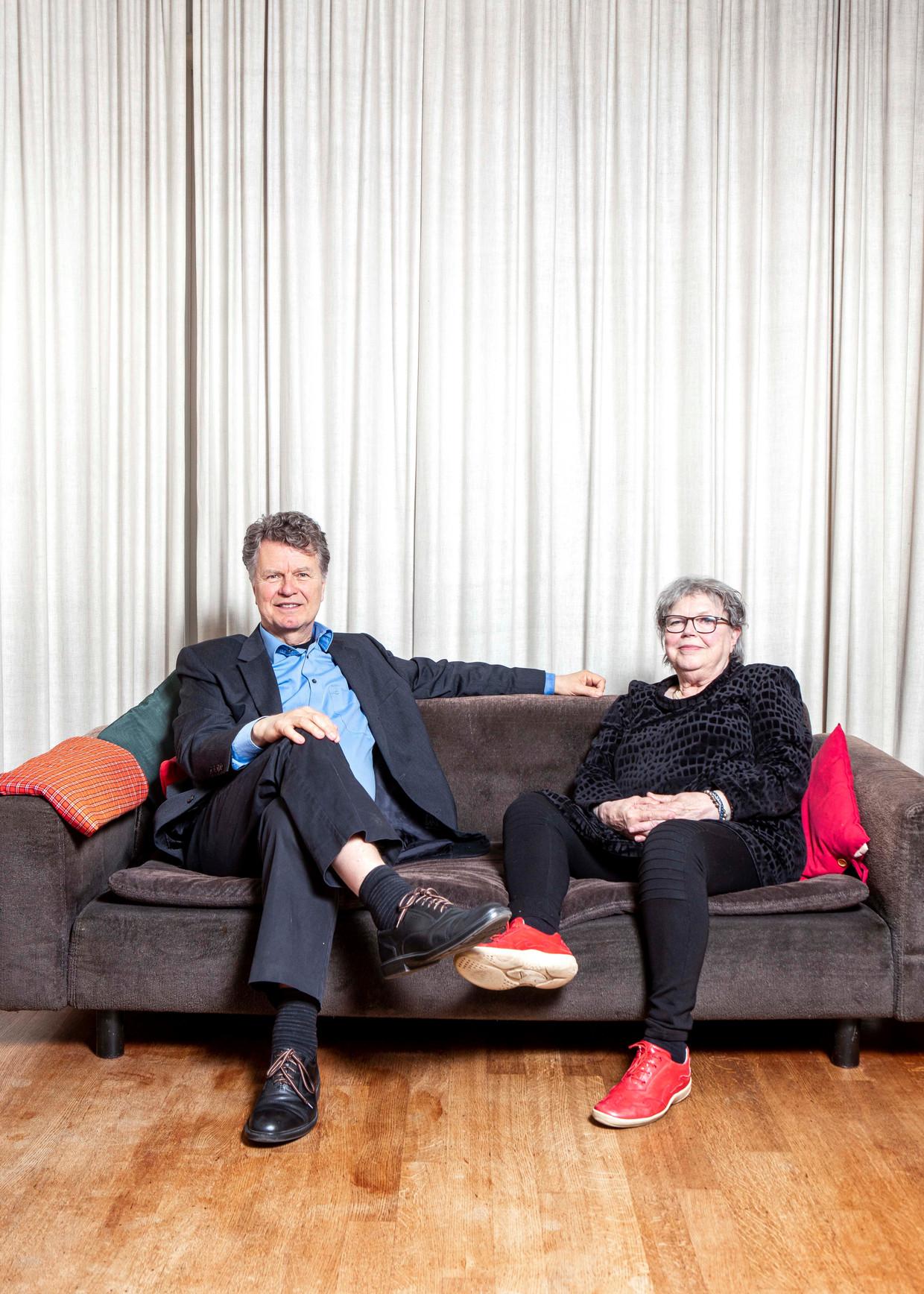 Boris Dittrich en Winnie van Rossem. Beeld Hilde Harshagen