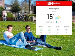 Nieuw! Check het weer in jouw buurt nu ook via de app van BN DeStem