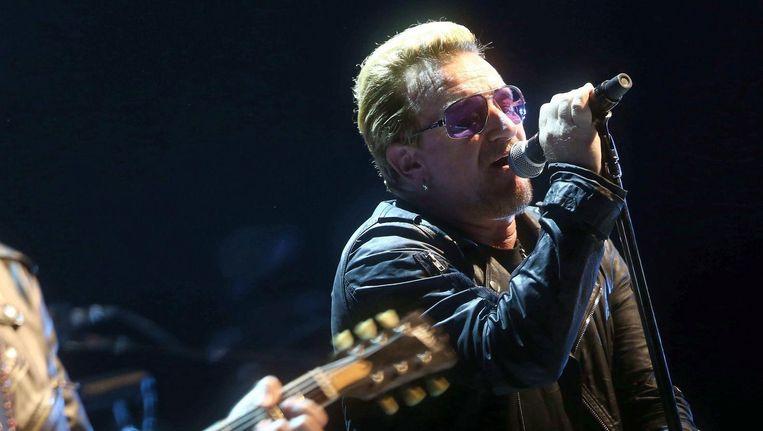 Zanger Bono. Beeld anp