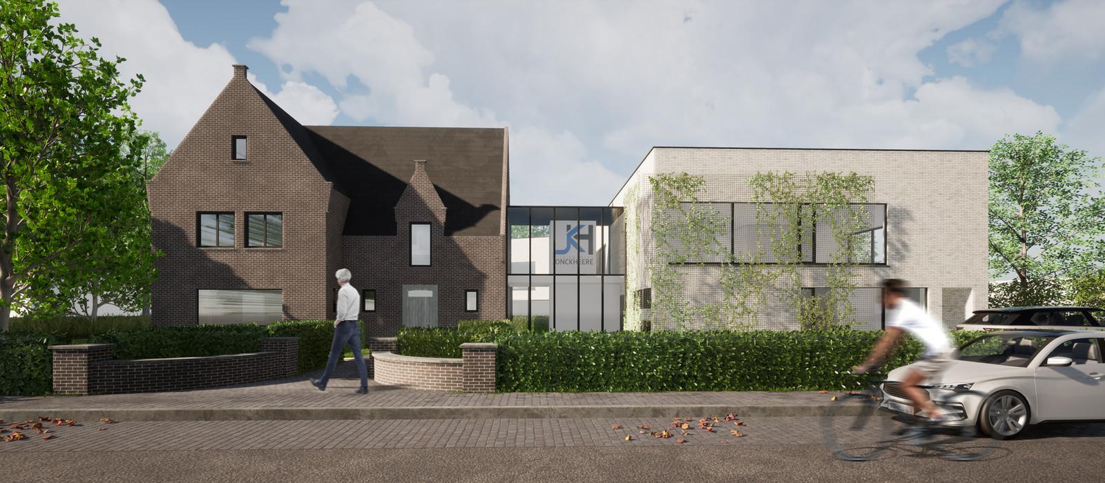 Het cohousingproject in Zevenbergen nabij de Veemarkt.