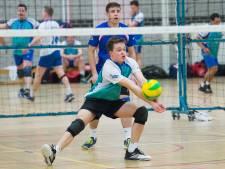 Volleyballers Flamingo's blijven in tweede divisie: derby keert terug