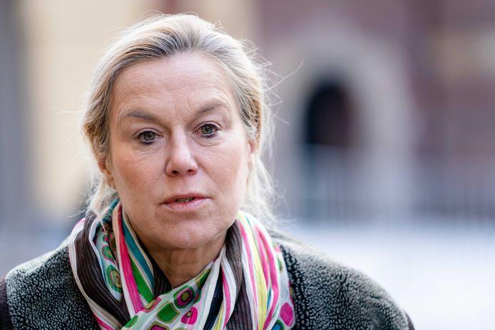 Demissionair Minister Sigrid Kaag voor Buitenlandse Handel en Ontwikkelingssamenwerking (D66) komt aan op het Binnenhof voor de wekelijkse ministerraad. ANP BART MAAT