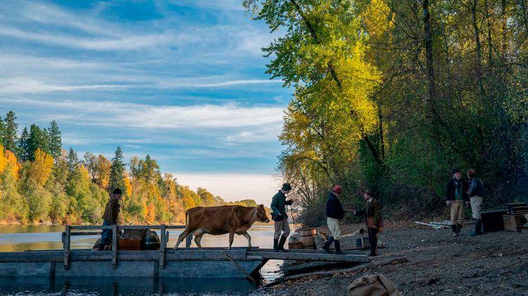 Still uit 'First Cow'. Beeld RV
