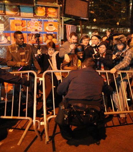 Tientallen Occupy'ers opgepakt in New York