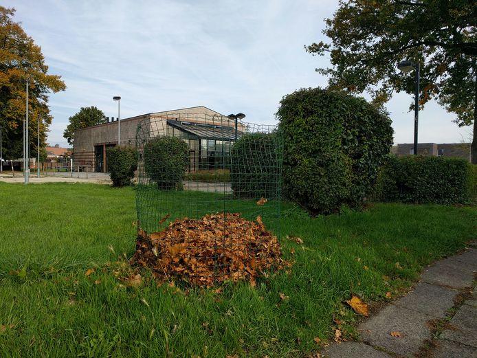 Eén van de bladkorven in de gemeente Haaltert.