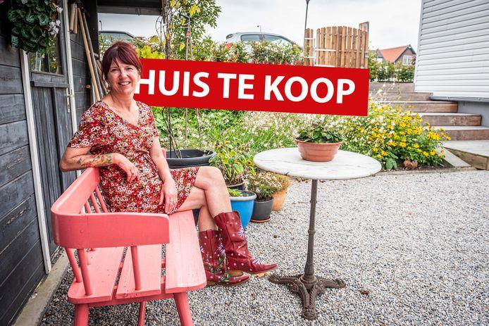 Helma Christ heeft haar huis aan de Badhuisweg 32 in de verkoop gedaan.