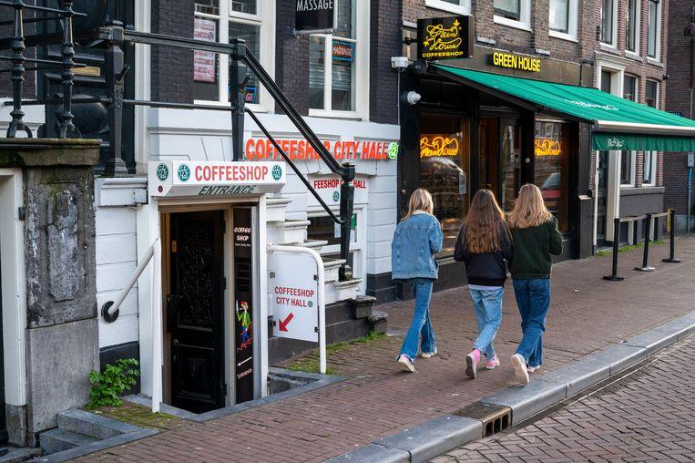 Coffee shops in Amsterdam  Beeld Hollandse Hoogte /  ANP