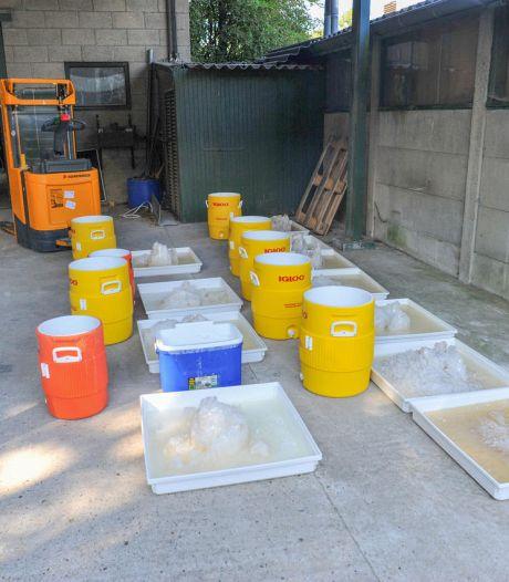 Politie: 'In opgerold crystal methlab kon meer dan 100 kilo per dag worden gemaakt'