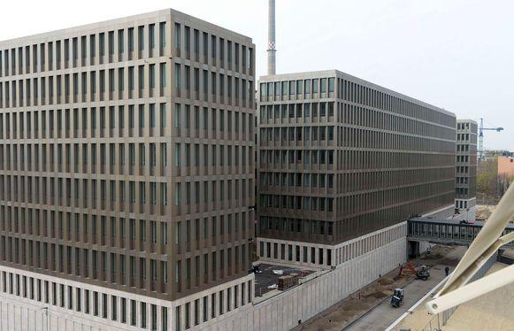 Het hoofdkantoor van de BND (Bundesnachrichtendienst) in Berlijn.
