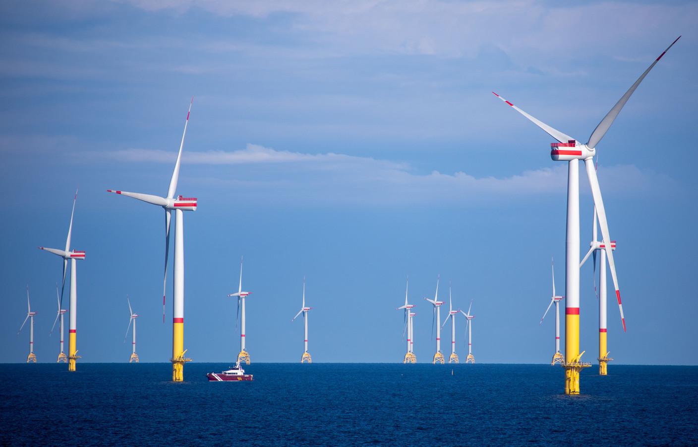 Denemarken is wereldkampioen op vlak van wind in zee.