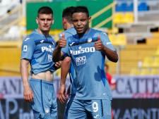 Atalanta blijft op koers voor Champions League na ruime zege in Parma