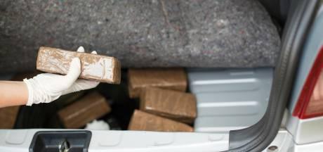 Celstraffen voor mannen die met drugs reden op A1 bij Wilp, onderweg naar Denemarken