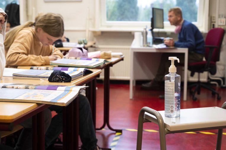 Uit een enquête van CNV Onderwijs blijkt dat het merendeel van de leraren geen voorstander is van heropening. Beeld ANP