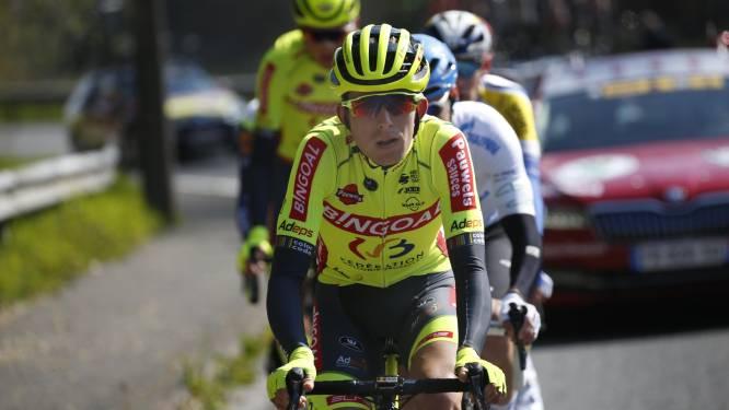 """Laurens Huys wordt knap zesde in Ronde van Hongarije: """"Ik merk aan de uitslagen dat ik vooruitgang boek"""""""