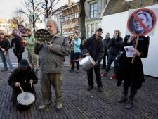 Drie arrestaties bij betoging tegen Wilders