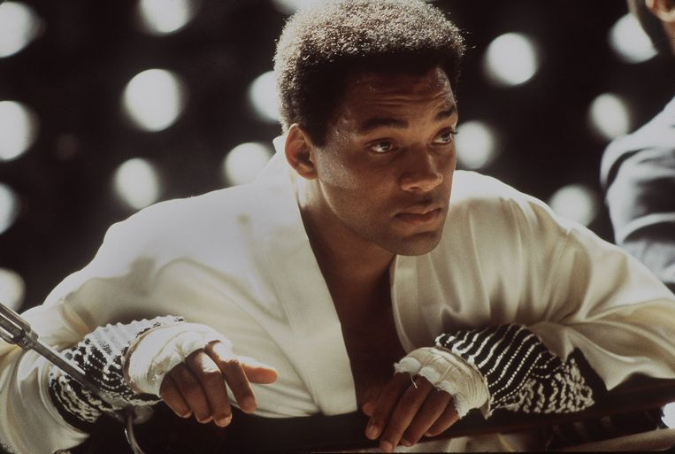 Will Smith in 'Ali'.  Beeld EPA