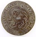 Een rekenpenning uit de 16de eeuw.