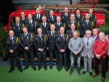 Lintje voor zes brandweerlieden in Wageningen