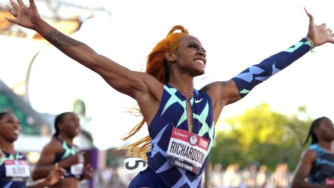 Amerikaanse sprintsensatie Richardson, die Spelen miste na positieve test op cannabis, neemt deel aan 200m op Memorial