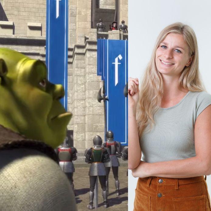 Shrek zou volgens een filmrecensent een slechte film zijn. Columnist Fee Buurmans is het er niet mee eens.