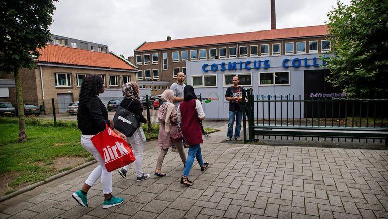 Op scholen in Rotterdam die gelieerd zijn aan het Cosmicus zijn deze week tientallen kinderen uitgeschreven Beeld anp