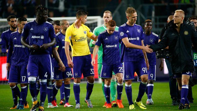 """Ook Franse pers zag hoe PSG het 45 minuten lang moeilijk had: """"De nasmaak na de eerste helft zal zuur zijn voor Anderlecht"""""""