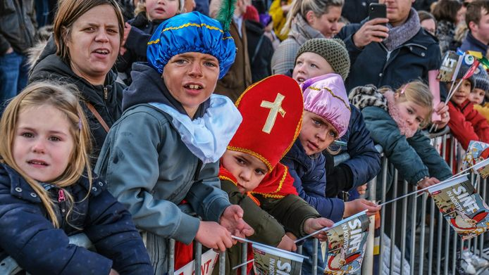De Sint aangekomen in Kortrijk
