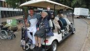 110 senioren verhuizen naar gloednieuw gebouw... met een golfkarretje