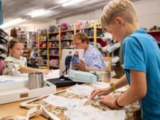 Naaien steeds populairder bij Veenendaalse kinderen