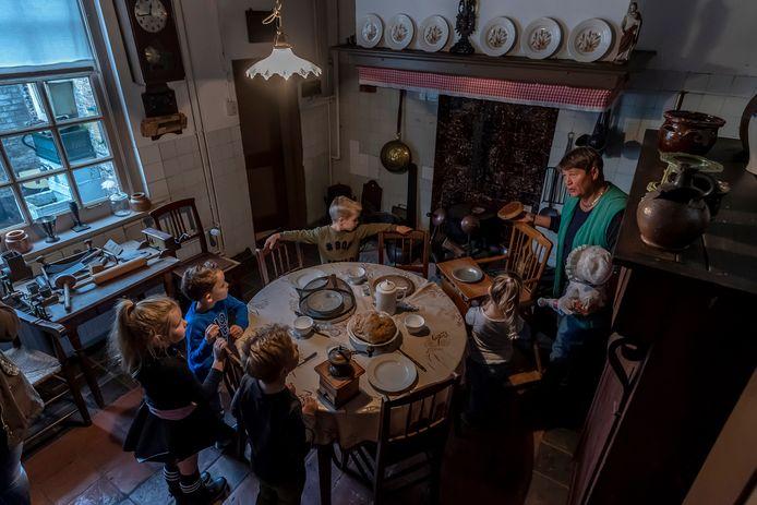 In 2018 kreeg streekmuseum Den Aanwas in Ossendrecht bezoek van schooklassen uit de gemeente Woensdrecht.