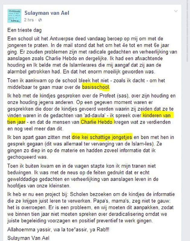 Facebook / Sulayman Van Ael