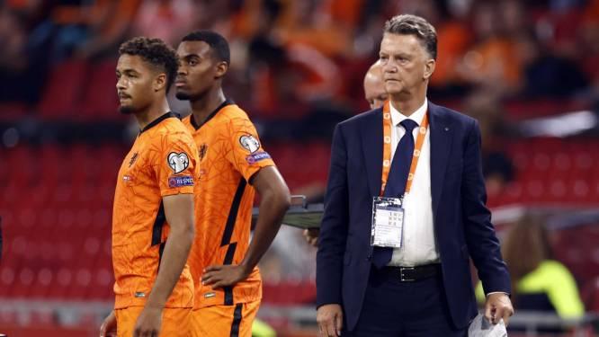 """Van Gaal na klinkende zege van Oranje: """"Wat we hebben laten zien, is niet normaal"""""""