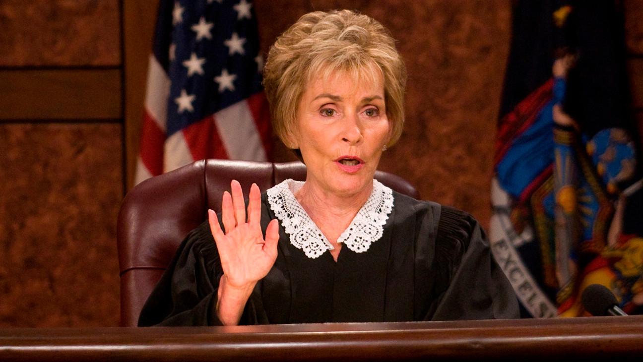 Rechter Judy Sheindlin, die 25 seizoenen lang 'Judge Judy' presenteerde