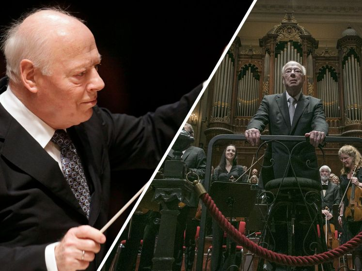 Wereld herdenkt beroemde dirigent Bernard Haitink