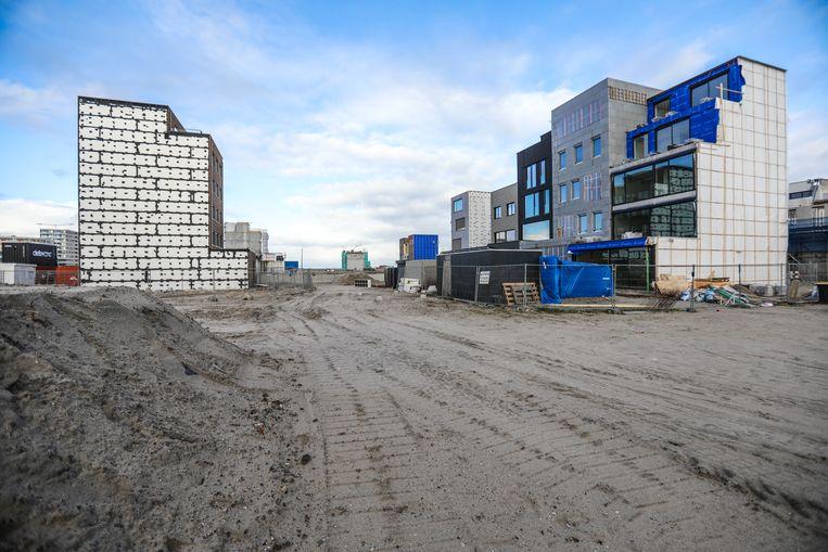 Nieuwbouw op Centrumeiland in IJburg Beeld Eva Plevier