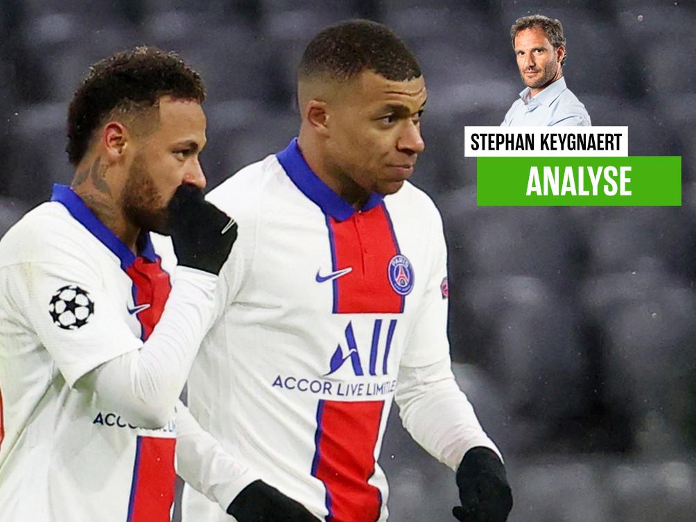 Onze chef voetbal Stephan Keygnaert over PSG, Neymar en Mbappé.