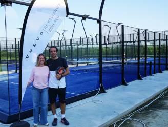 Beckhand neemt zes nieuwe padelvelden in gebruik en start met padel academy